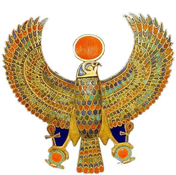 египетский амулет коршун